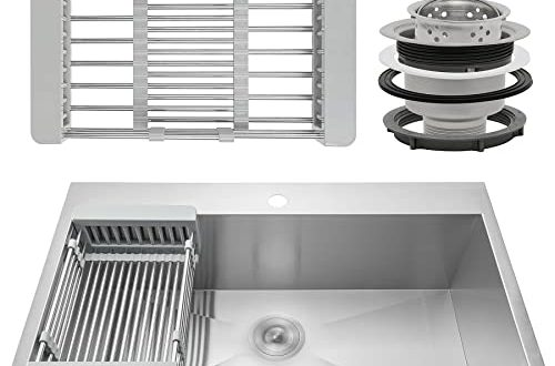 Kitchen Sink With Drainboard: Amazon.c