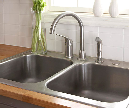 Ultimate Guide to Kitchen Sinks and Faucets | Better Homes & Garde