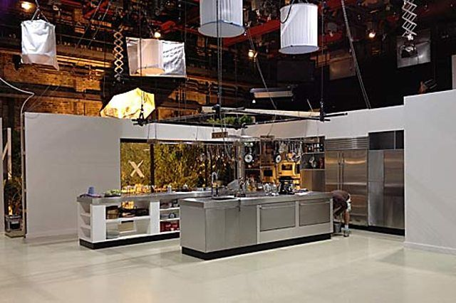 Nigellissima: How we built the kitchen set | Tv in kitchen, Studio .