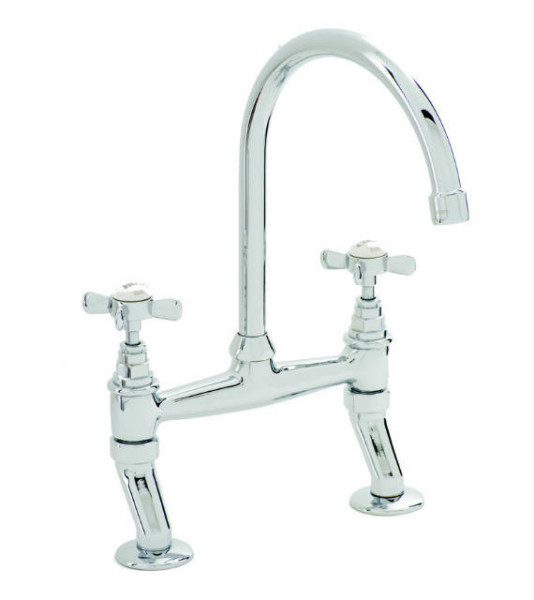 San Marco Bridge Mixer Kitchen Taps and Fittings Only £240 | Taps .