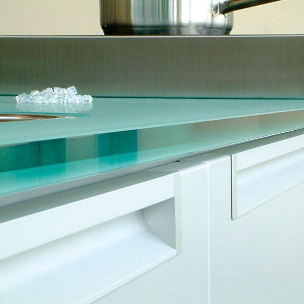 Solid Glass - Kitchen worktop (Bottle Green) | Kitchen .