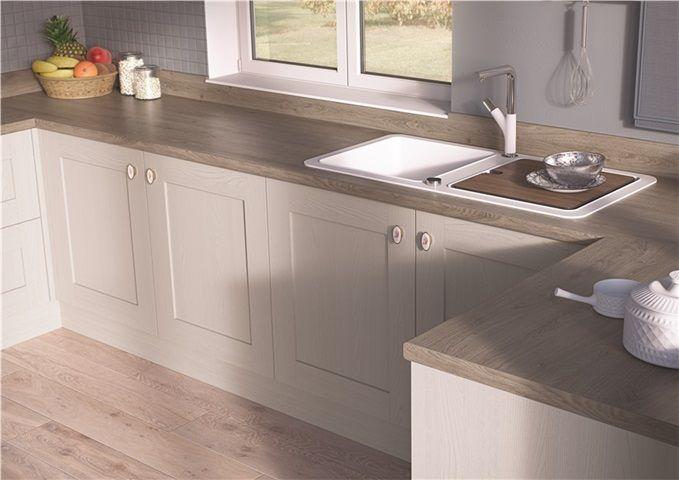 EGGER Kitchen Worktops: H1399 ST10 Truffle RIverside Oak Featuring .