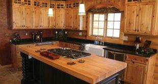 Knotty Pine Kitchen Cabinets : Kitchen Design Ideas light colored .