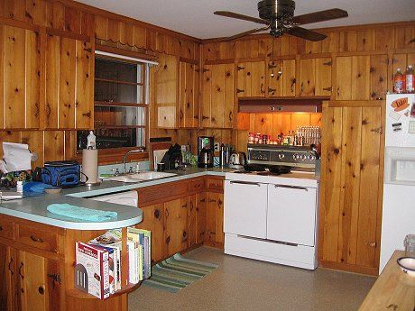 Vintage-Knotty-Pine-Kitchen-Cabine