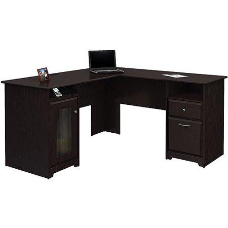 Bush Cabot L Shaped Computer Desk with 4-Port USB Hub - Walmart .
