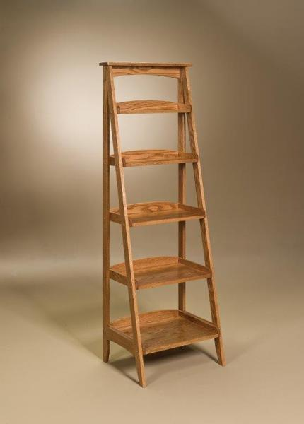Ladder Bookshelf from DutchCrafters Amish furnitu