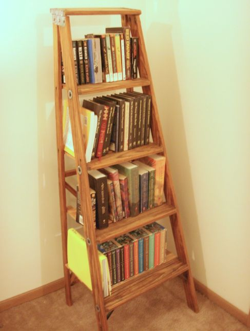 Ladder Bookshelf : 5 Steps (with Pictures) - Instructabl