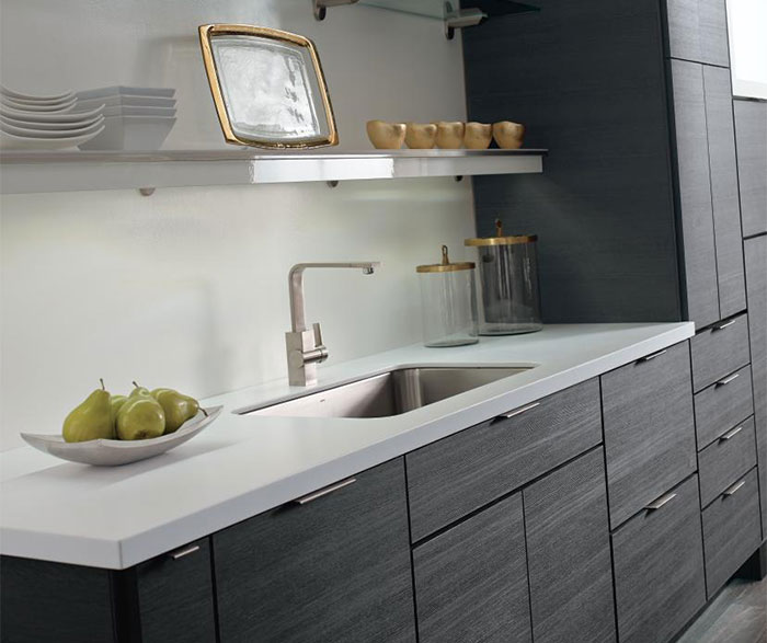 Contemporary Laminate Kitchen Cabinets - Diamo
