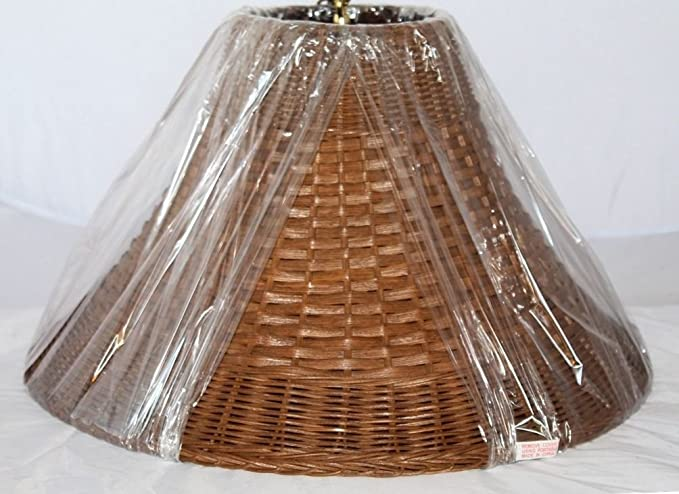 Wicker Rattan Lamp Shade Exclusively by Lamp Shade Pro, Sizes 12 .