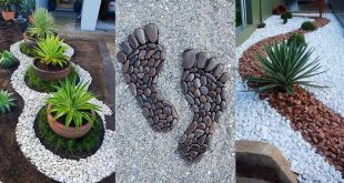 Landscaping with River Rock: Best 130 Ideas and Desig