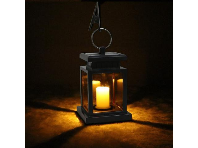 Waterproof LED Solar Garden Light Outdoor Flickering Flameless .