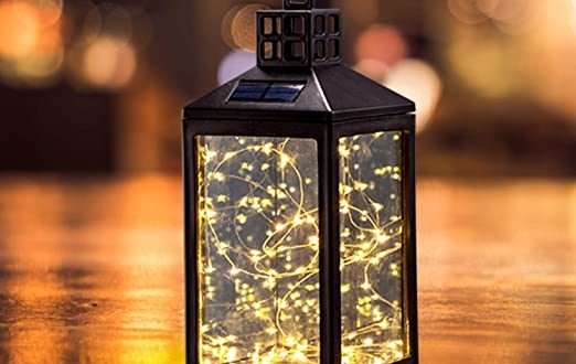 Solar Lantern Lights Outdoor SUNWIND Waterproof Solar Table Lamp .
