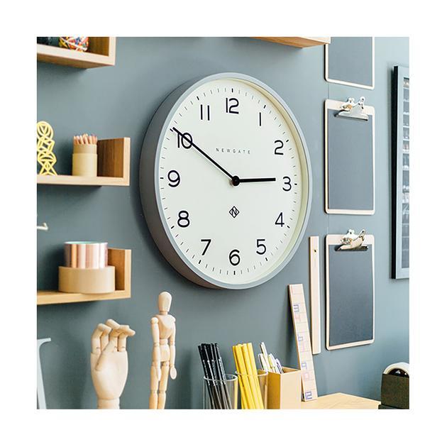 Grey Wall Clock | Large Modern Minimalist | Newgate Clocks .