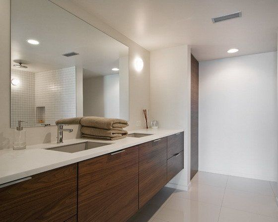 Large Bathroom Wall Mirror : Cento Ventesimo Decor - How To Hang .