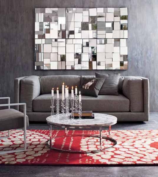 Modern Wall Mirrors, New Design Ideas for Unique Room Decor .