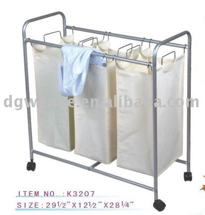 K3207 Cotton Laundry Basket With Wheels - Buy Metal Laundry Basket .