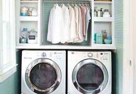 Organised laundry (With images)   Small laundry rooms, Laundry .