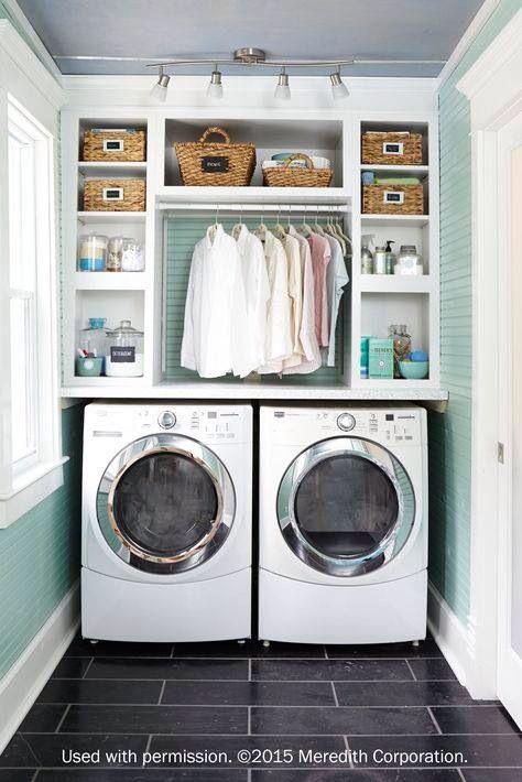 Laundry Room Organised