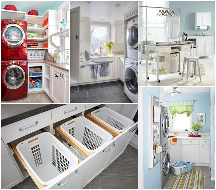 15 Awesome Laundry Room Storage and Organization Hac
