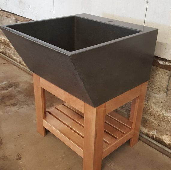 Large Utility Sink with Extension and Stand | Utility sink .