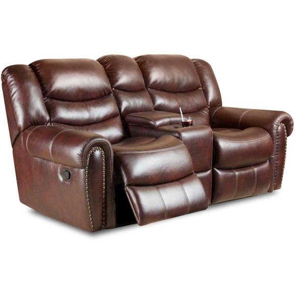 Cambridge Lancaster Double Reclining Loveseat 98502DRL-BU - The .