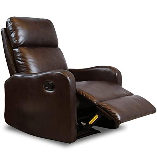Genuine Leather Recliner: Amazon.c