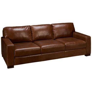 Soft Line-Pista-Soft Line Pista Leather Sofa - Jordan's Furnitu