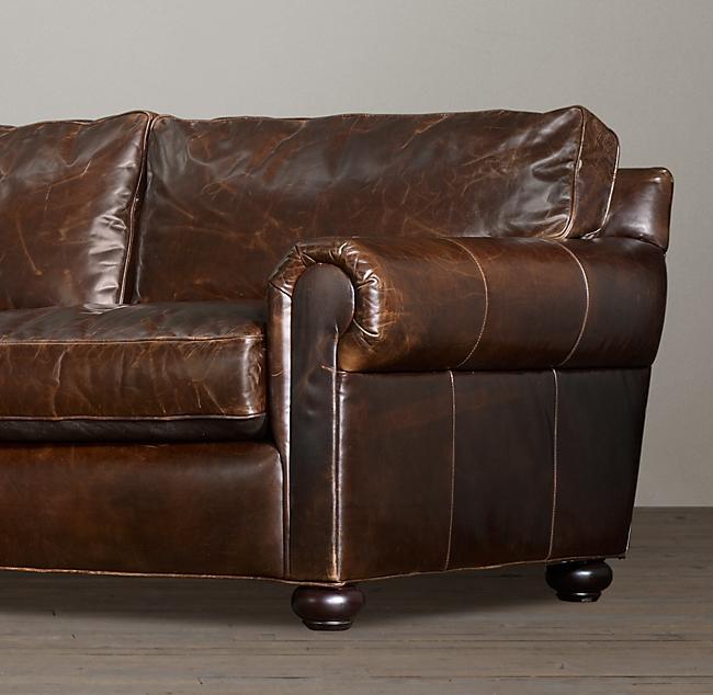 "96"" Original Lancaster Leather So"