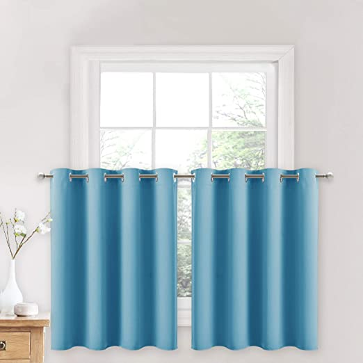 Amazon.com: NICETOWN Blackout Window Curtains for Nursery - Eyelet .