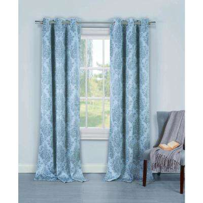Light Blue - Blackout Curtains - Curtains & Drapes - The Home Dep
