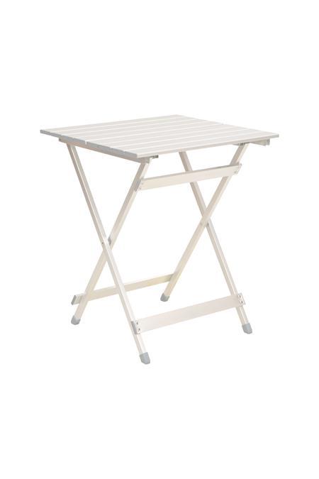 Slatted Lightweight Aluminium Folding Table | Mountain Warehouse