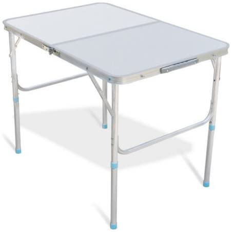 Amazon.com: Lightweight Folding Table 3' Portable Foldable Plastic .