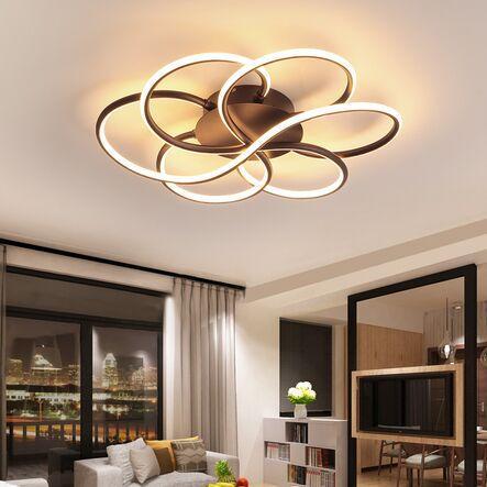 2020 Dimming Modern Led Ceiling Lights Living Room Bedroom Study .
