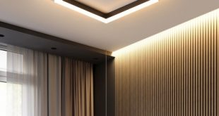 Integrated Led Geometric Flush Mount Light Modern Simple Metal .