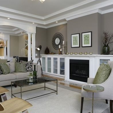 Ideas for Living Room Colors: Paint Palettes and Color Schemes .