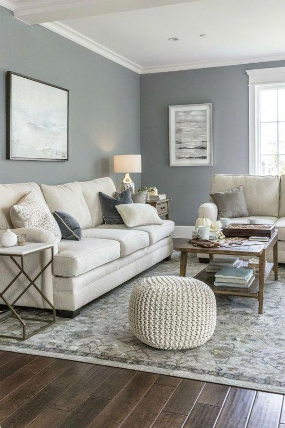 Living Room Colors Ideas: 18+ Trendy Decors with Latest Loo
