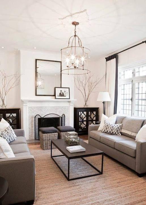 swanky living room inspiration | Neutral living room design .