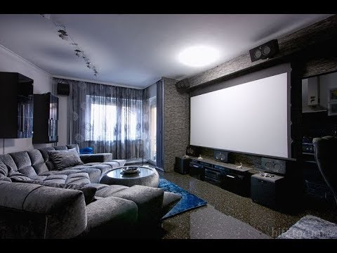 Most Fabulous Living Room Theater Ideas - YouTu