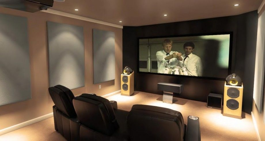Setting Prefect Living Room Theaters | Home theater room design .