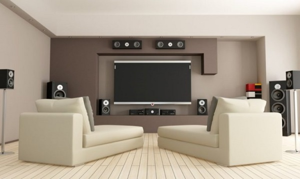 25+ Awesomely Mesmerizing Living Room Theater Ideas to Ste