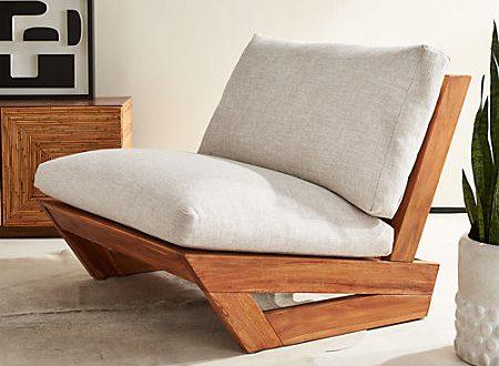 Sunset Teak Lounge Chair + Reviews   C