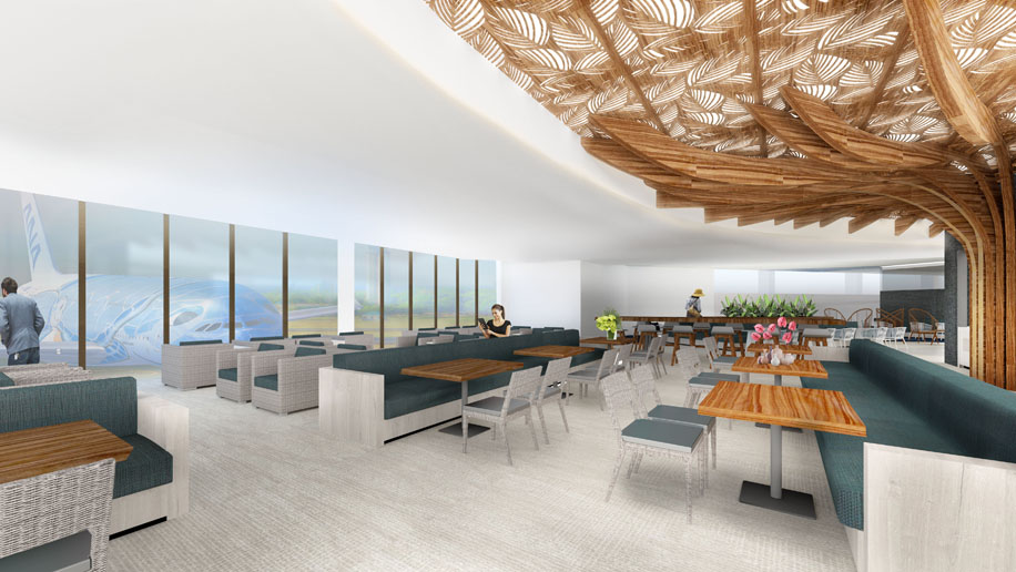ANA unveils design of Honolulu lounge – Business Travell