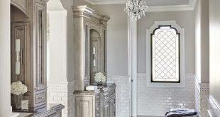 Side lighting in bathroom vanities | Luxury master bathrooms .