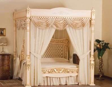 Divine Luxury Beds : Baldacchino Supreme Luxury B
