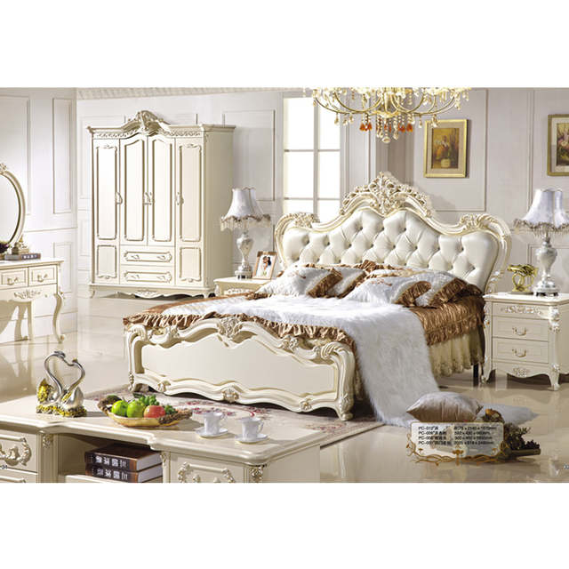 Luxury Beds French Style upholstered Bed French Bedroom Furniture .