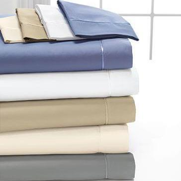 Egyptian Cotton Sheets in Grey - Deep Pocket Sheets – American .