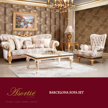 Barcelona Classic Living Room Set - Buy Living Room Furniture .
