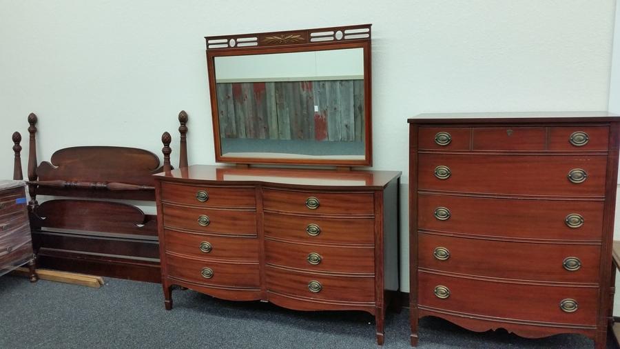 Antique Mahogany Dixie Furniture Bedroom Set! | My Antique .