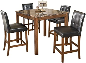 Amazon.com - Signature Design by Ashley - Theo Dining Room Table .