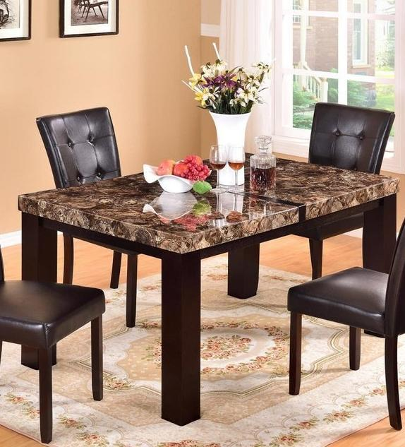 Marble Dining Table And Chair Set by Global Trading | Regency .